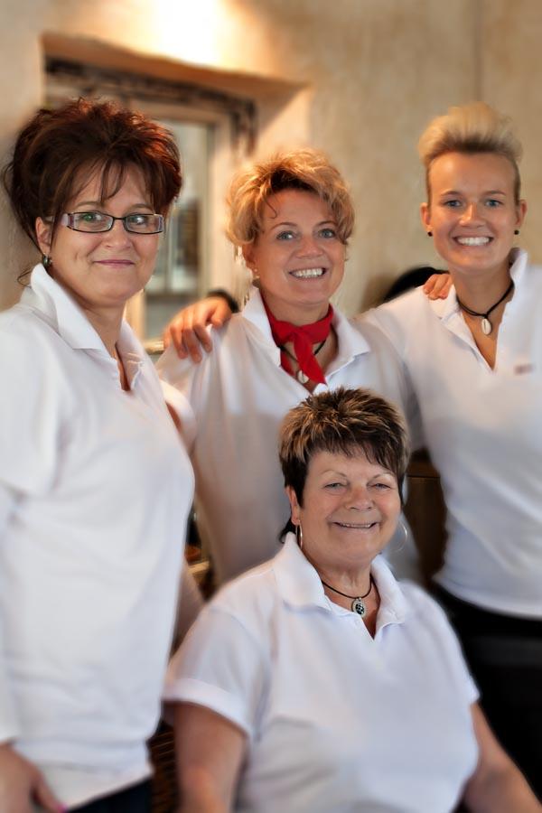 Friseur Scheune Schmidt Schermen Team Familie Schmidt